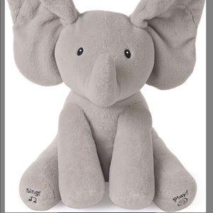 """Baby Gund Flappy the Elephant Animated Plush, 12"""""""